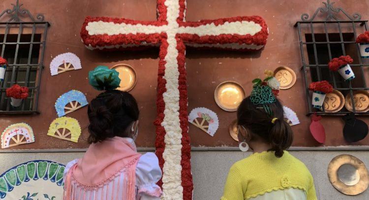 dia de la cruz virgen de las angustias
